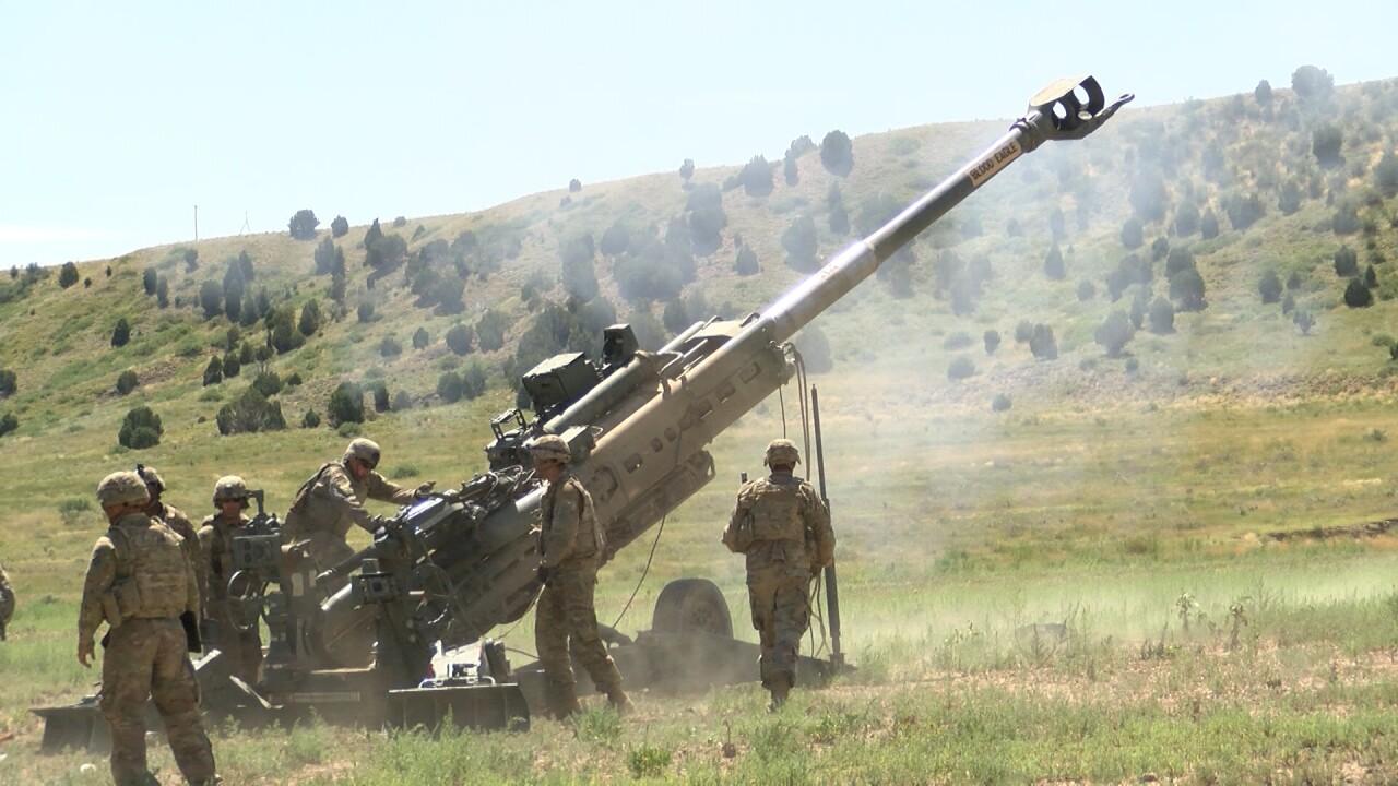 artillery exercises