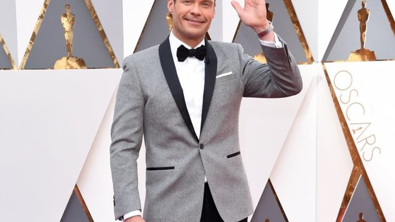 Ryan Seacrest's Oscar night could prove complicated