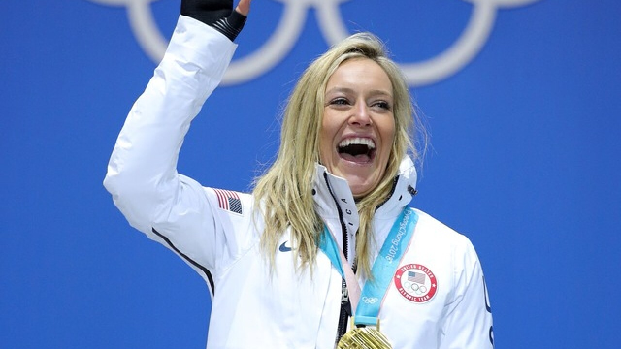 Gold medal for U.S. Jamie Anderson but a black eye for snowboarding