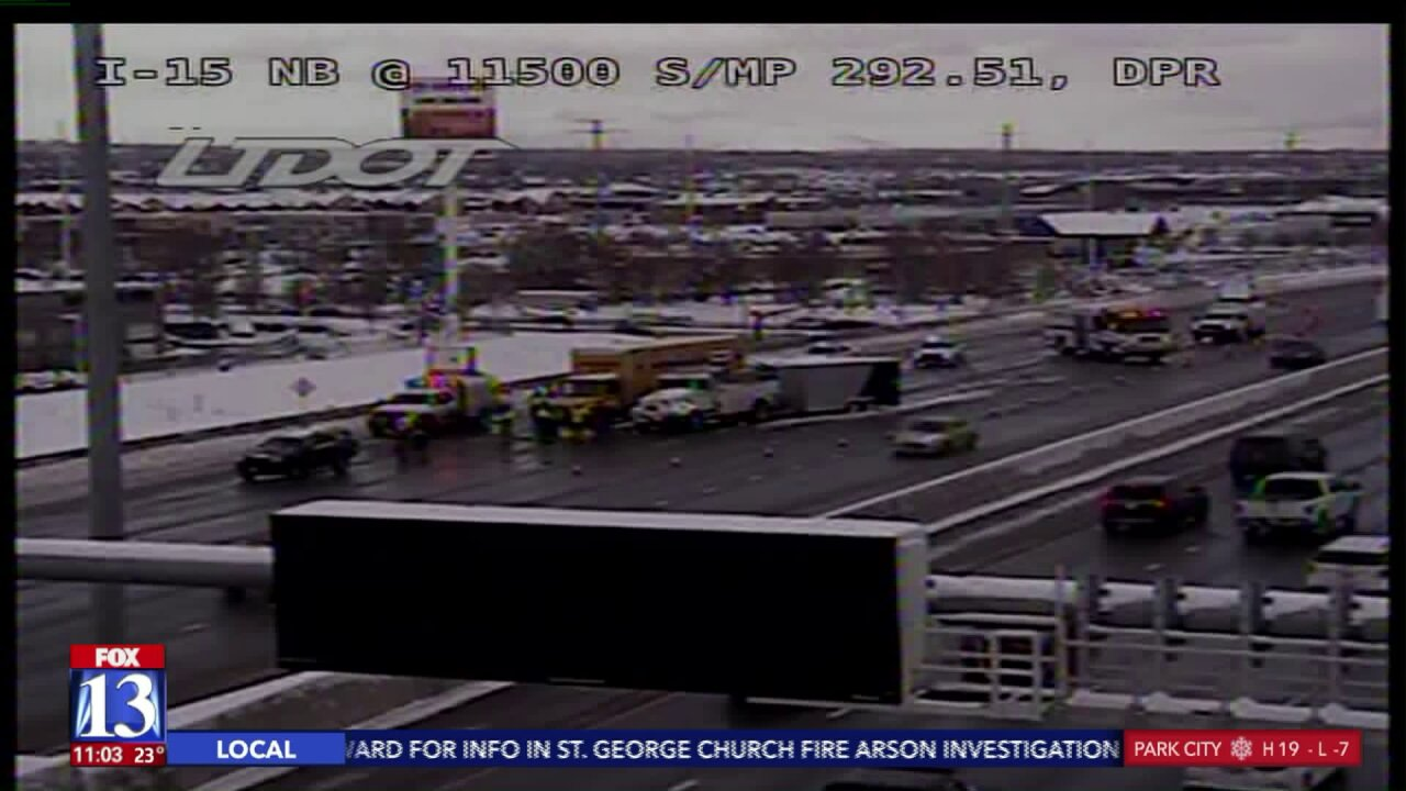 UHP responded to almost 600 crashes in last 48 hours as winter storm hitUtah