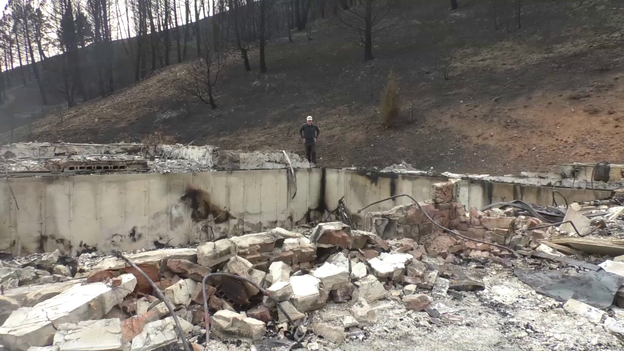 1 year later: Family rebuilds after Bridger Foothills Fire