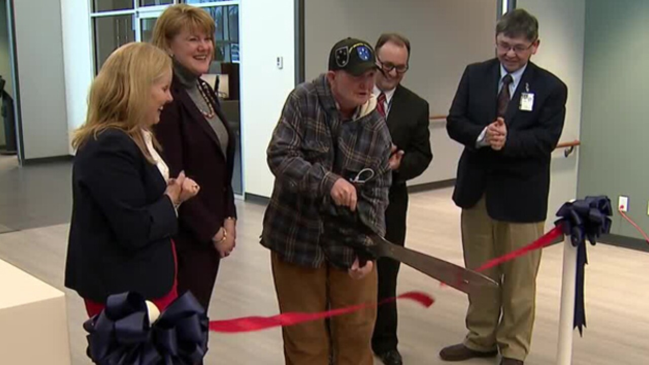 Veteran Brought To Tears At VA Clinic Ribbon Cutting Ceremony