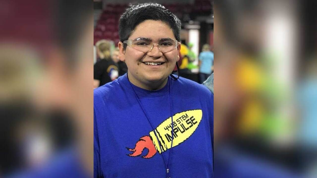 The parents of 18-year-old Kendrick Castillo confirm that the high school senior was the student killed in Tuesday's shooting at STEM School Highlands Ranch.