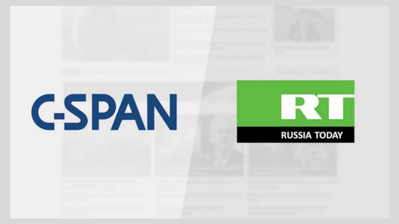 C-SPAN's feed interrupted by Russian news channel