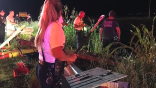 Diver recounts difficult search in canal with alligators following crash