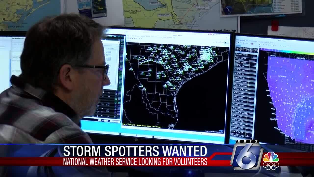 The National Weather Service needs local storm spotters