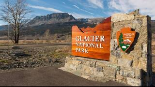 Glacier National Park is closed to all visitors until further notice