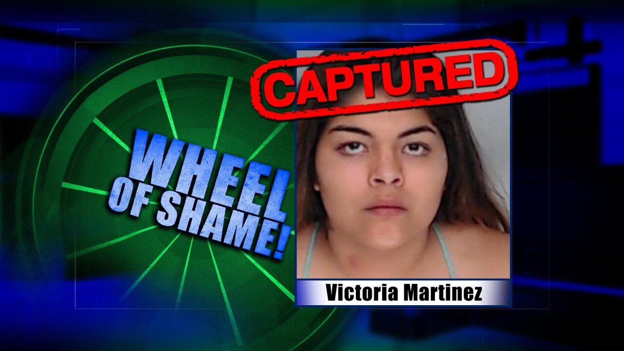 Wheel Of Shame Fugitive Arrested: Victoria Martinez