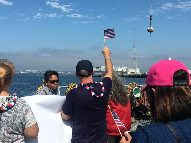 Sailors reunited with families as USS Dewey returns