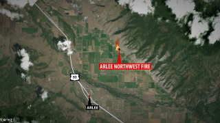 Arlee fire close to containment
