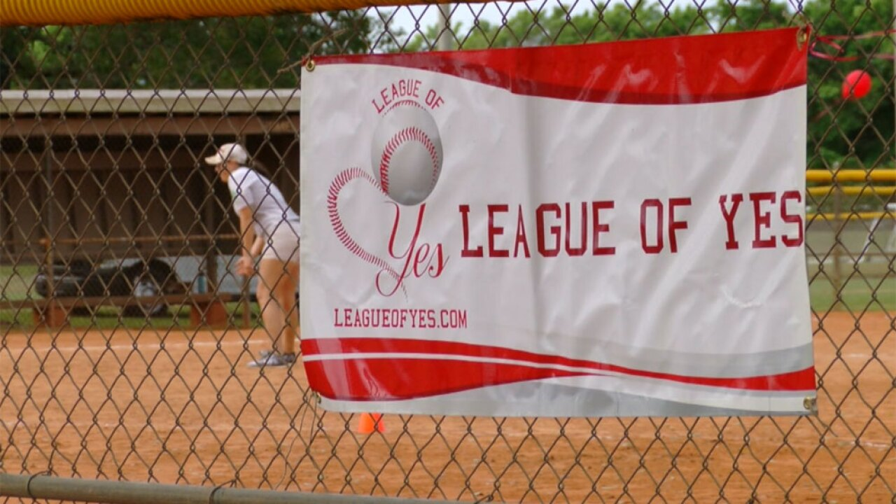 League of Yes baseball game