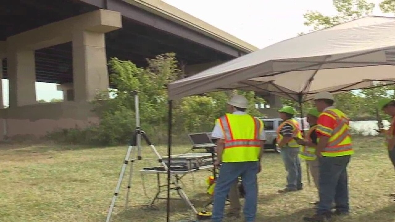 Drone used to inspect Ohio Turnpike bridge