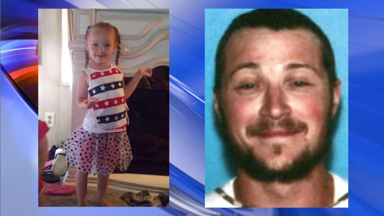 West Virginia State Police issue Amber Alert for 4-year-old girl