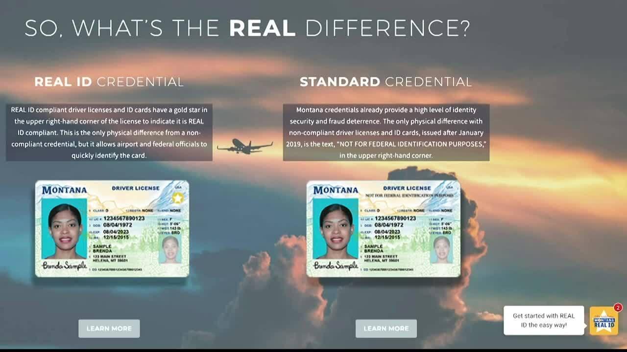 REAL ID Montana