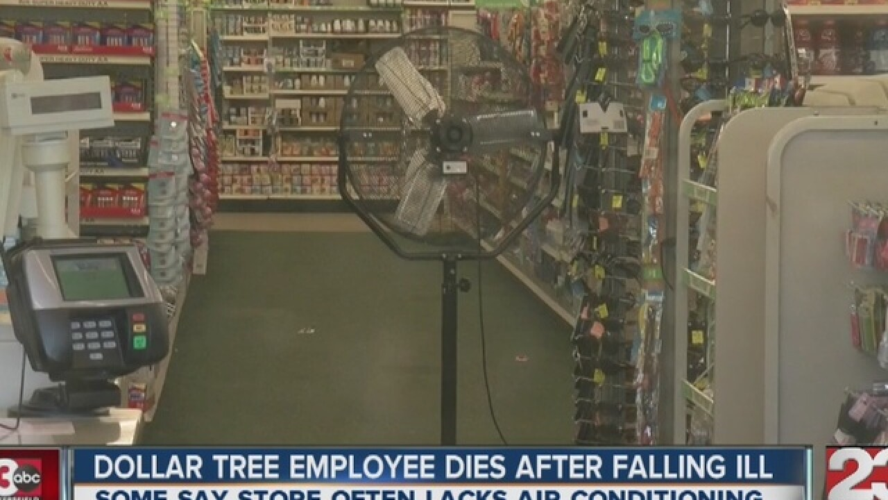 S  H St  Dollar Tree closed after employee dies