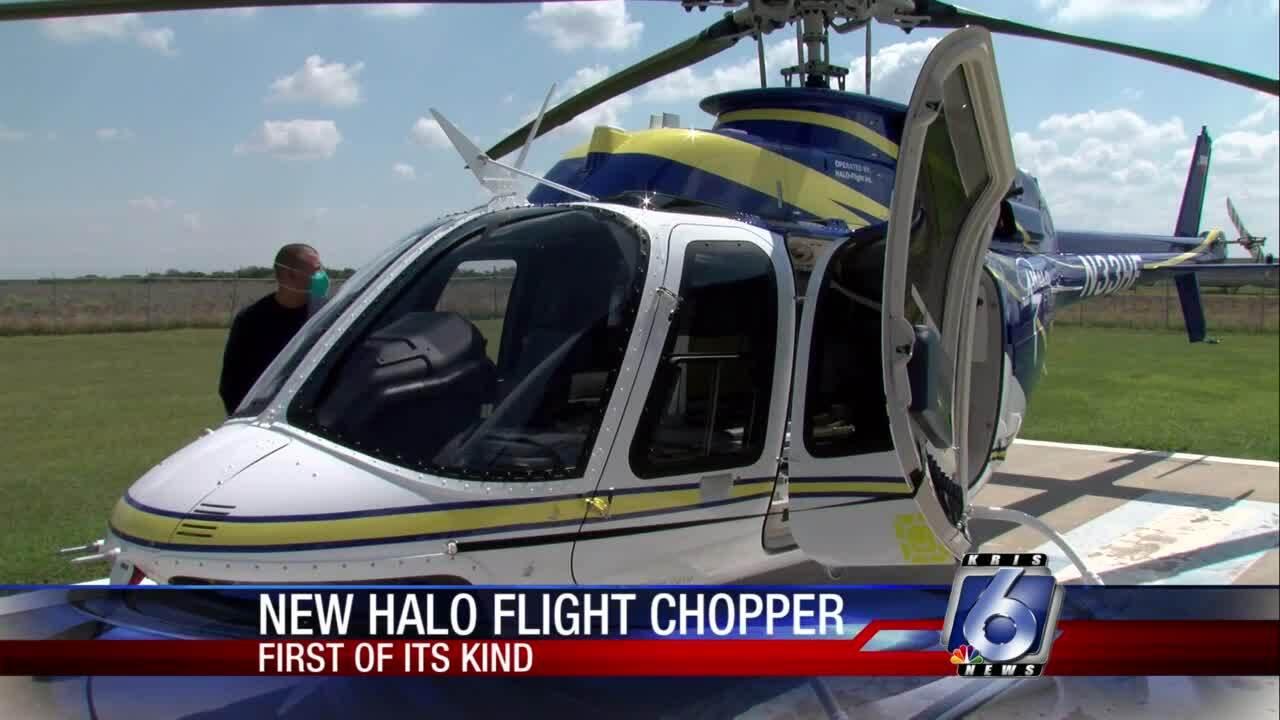 Halo Flight unveils new chopper