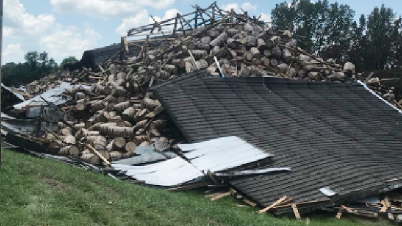 Rest of Kentucky bourbon warehouse collapses