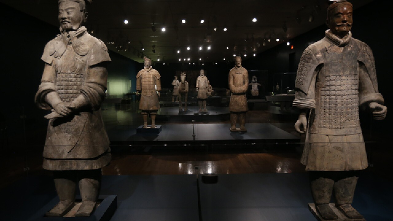 Tickets sold out for art museum's 'Terracotta Army' exhibit
