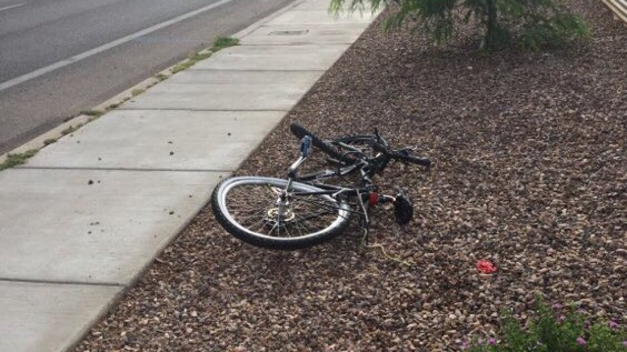 Fort Lowell bike death