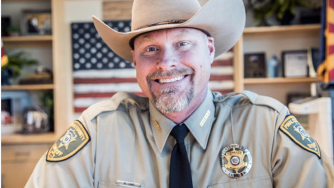 Pinal County Sheriff Mark Lamb
