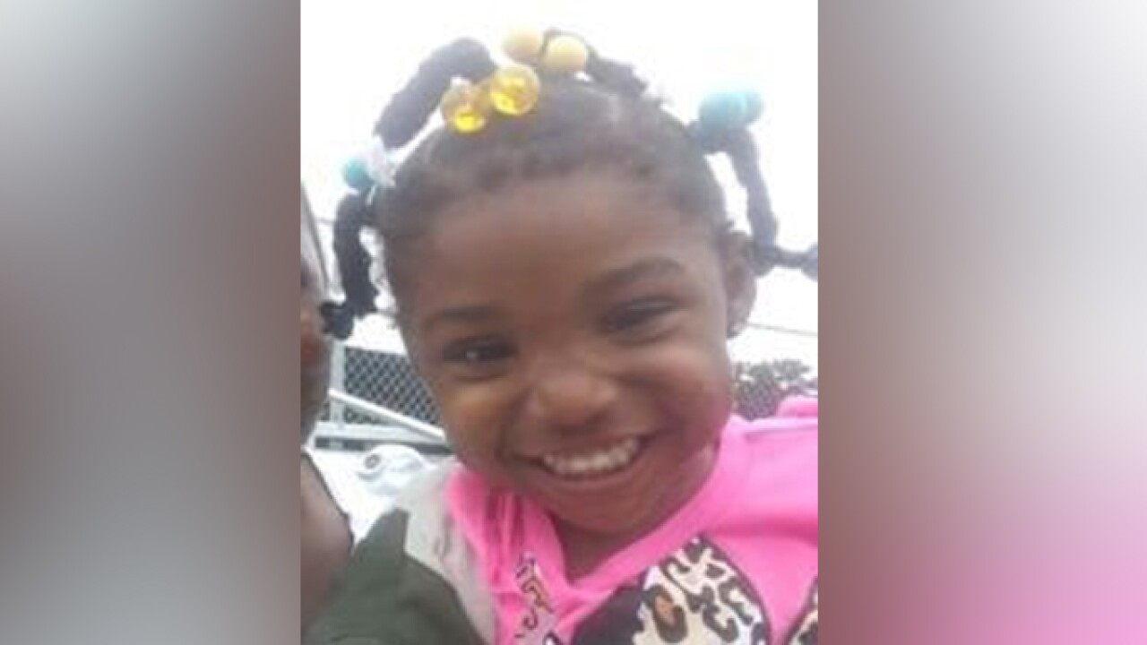 Kamille 'Cupcake' McKinney died by suffocation the same day she was kidnapped, documents say