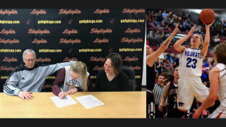 Columbia Falls' Ryley Kehr signs with MSU-Northern