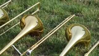 Georgia school probes racist slur displayed by marching band