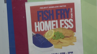 fish fry for homeless