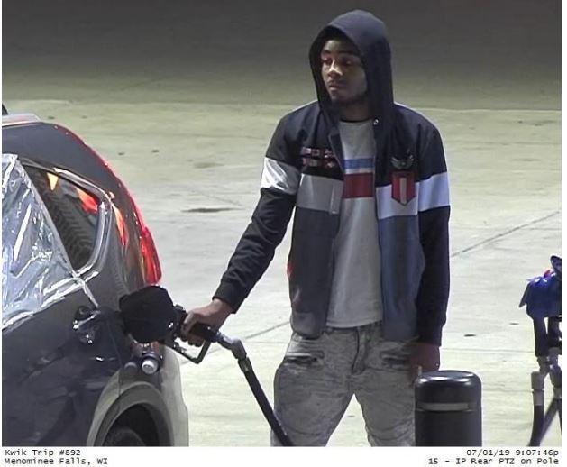 Suspect: Kwik Trip Gas Theft