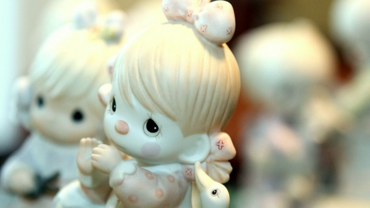 Precious Moments figurines could be worth thousands