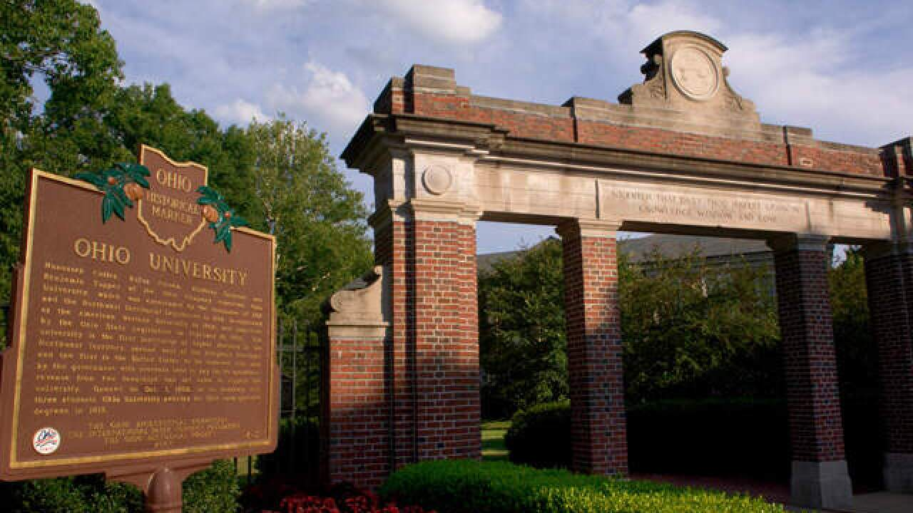 Ohio University suspends all fraternities after hazing incidents reported