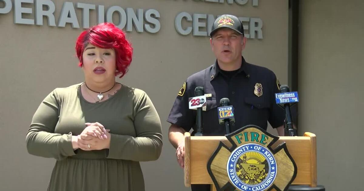 Kern County EOC holds press conference