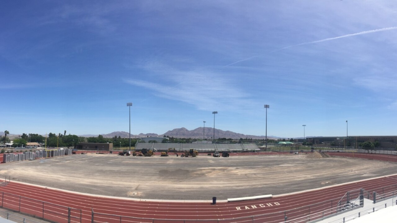 Rancho HS football field