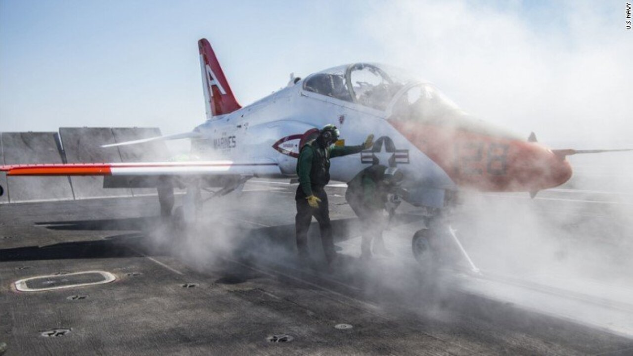 Navy puts 'safety pause' on trainer jet fleet after more than 100 pilots refuse to fly