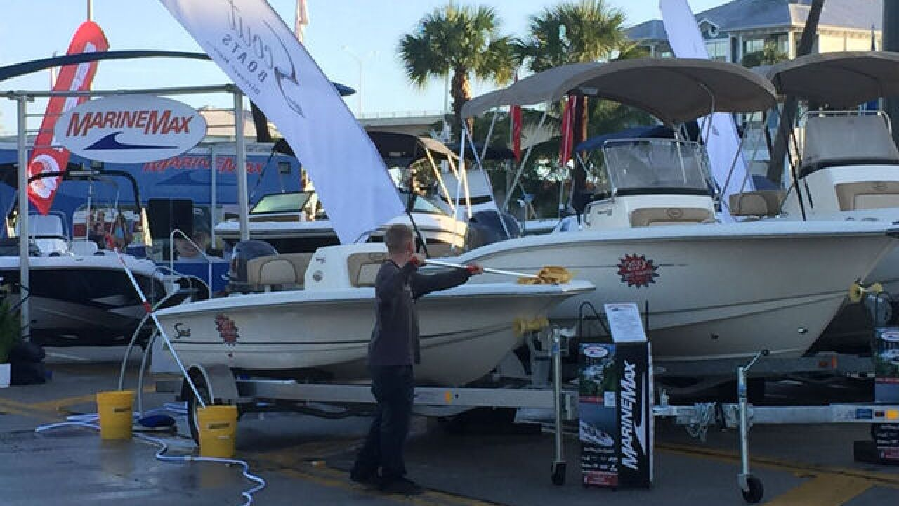 Stuart Boat Show bounces back from severe wx