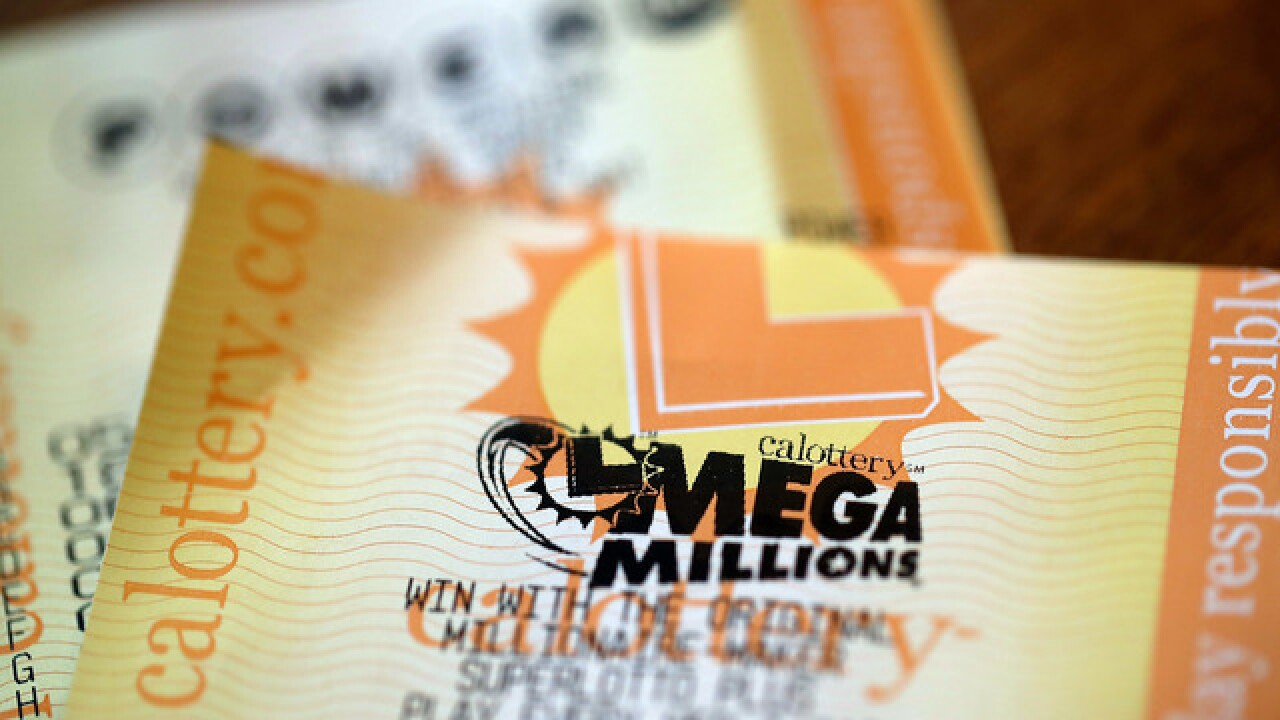 Numbers drawn for record $1.6 billion Mega Millions jackpot