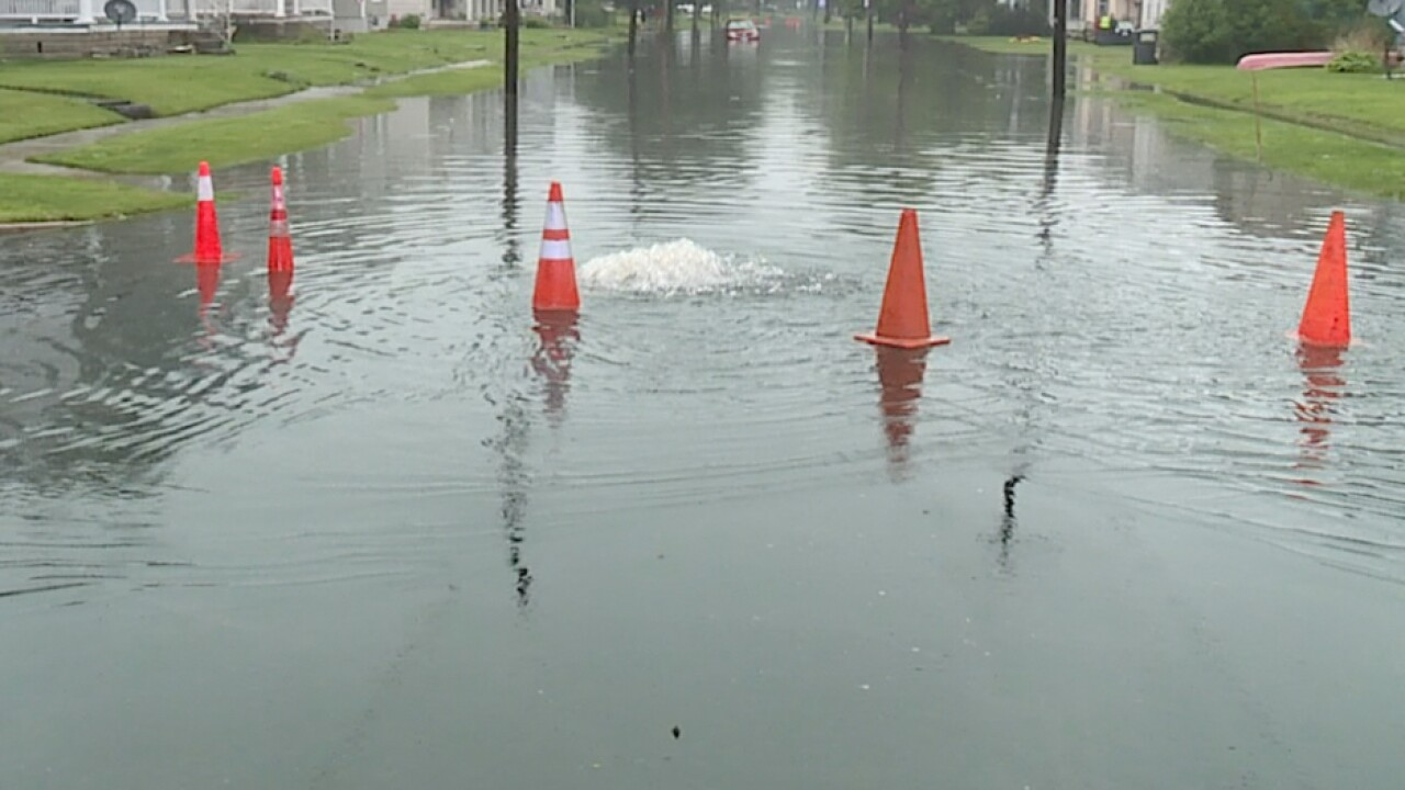 Bellevue hit by more rain, causing flood damage and closed streets