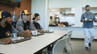"""Brewers take on """"Mean Girls"""" in this spring training video"""