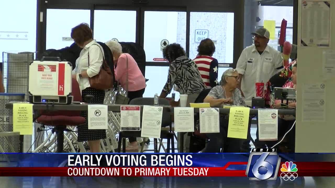 Early voting began Tuesday