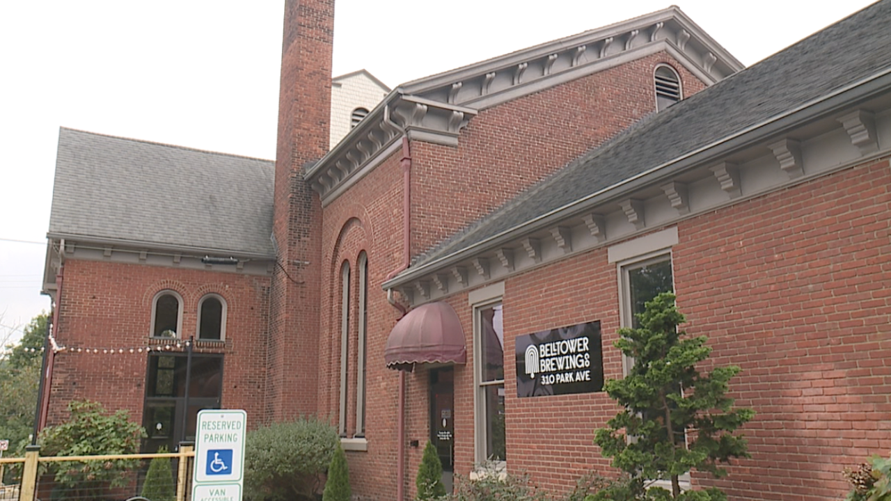 Former Kent church set to open soon as Bell Tower Brewing Co.