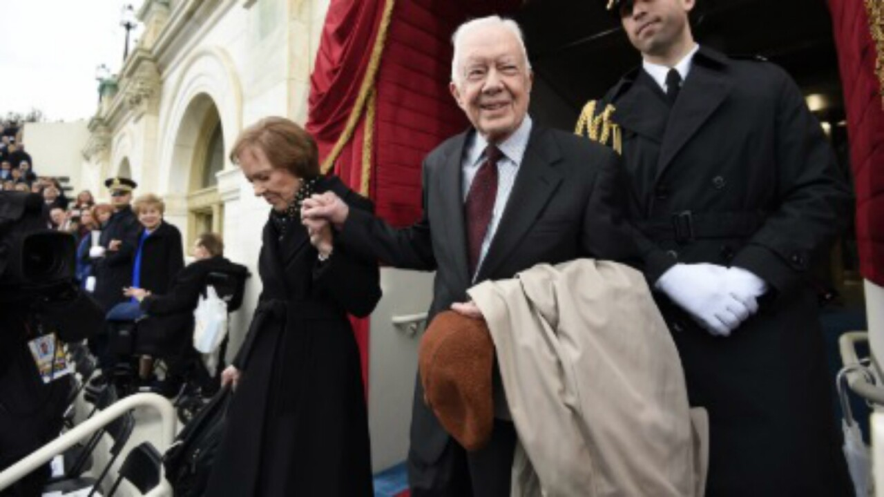 Jimmy and Rosalynn Carter released from the hospital