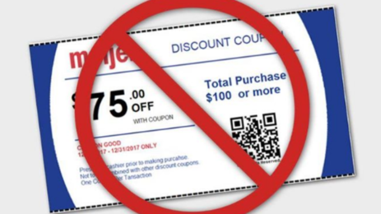 Meijer says $75 off coupon on web is fake