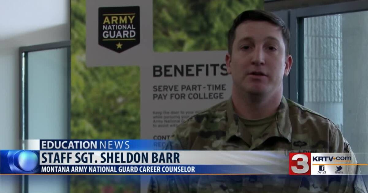 Montana National Guard troops can go to college tuition-free