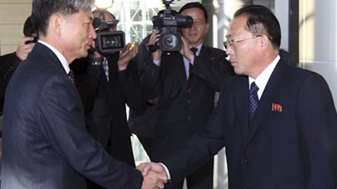 North, S. Korea restart talks to ease animosity