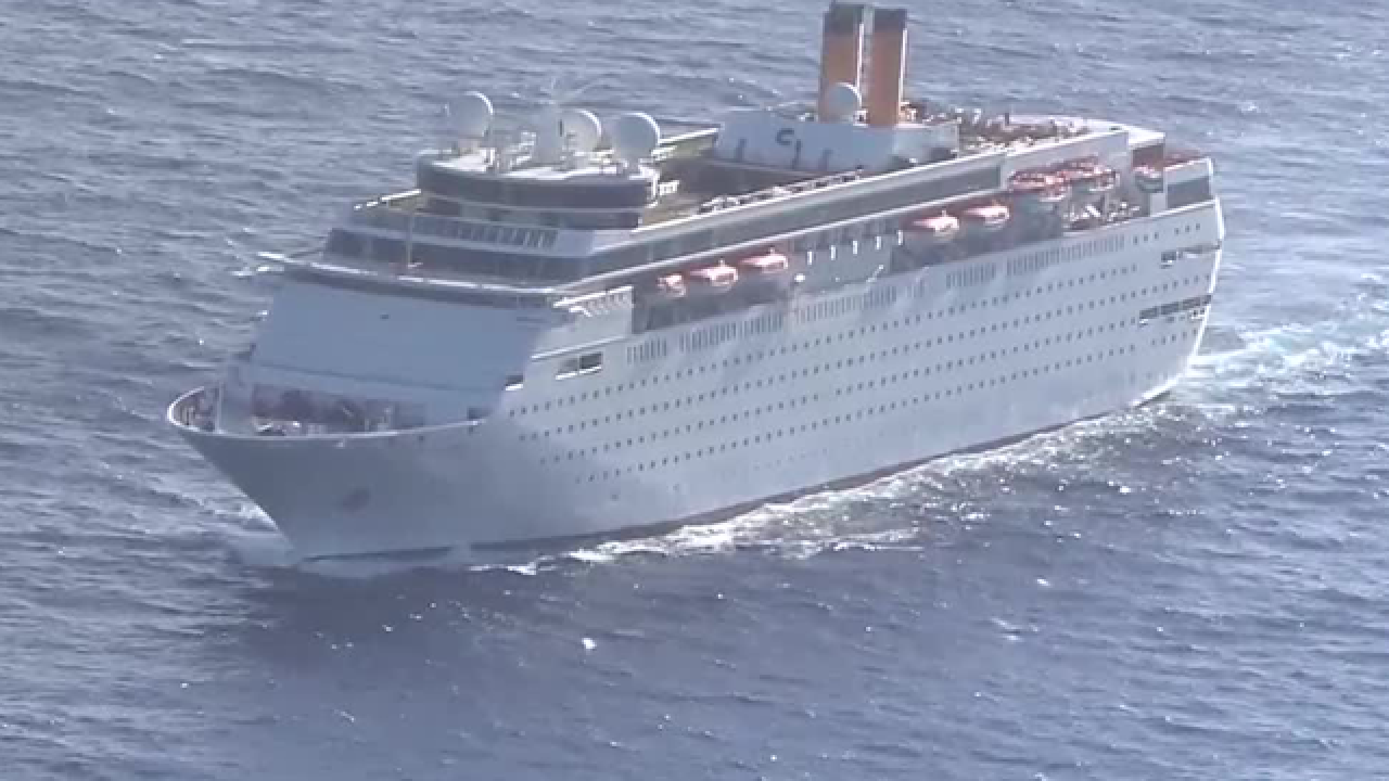 Man dies after being medevaced from Grand Classica cruise ship, Coast Guard says