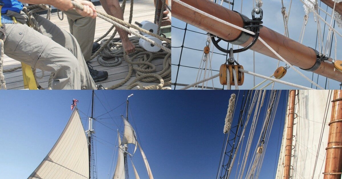 Watch Tall Ships sail into Cleveland Harbor today