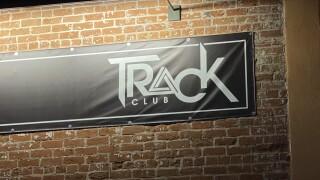Track Club sign
