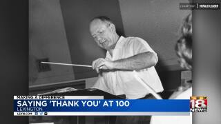 Making A Difference: Lexington Music Community To Send Man Thank You Cards On 100th Birthday