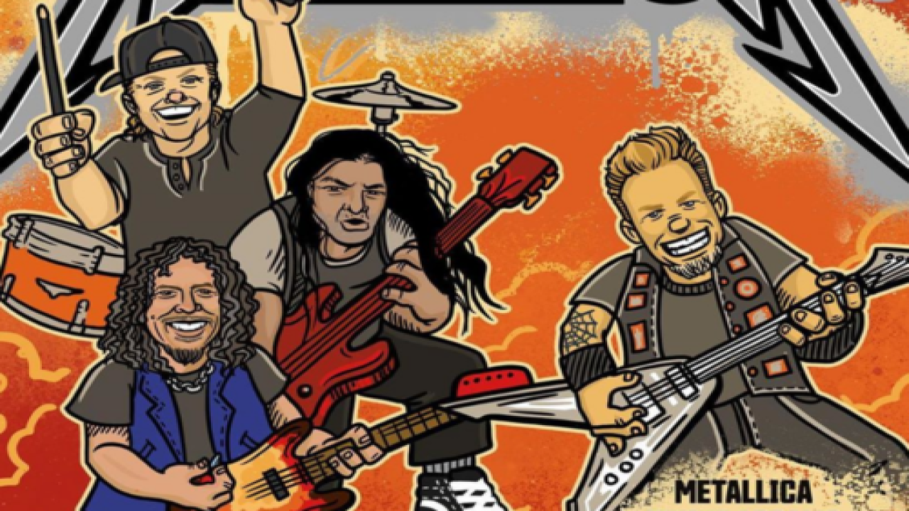 Metallica Is Making An Illustrated Children's Book