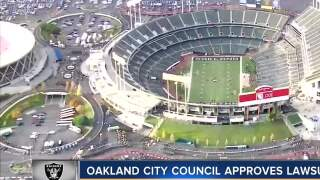 City of Oakland filing lawsuit against Raiders